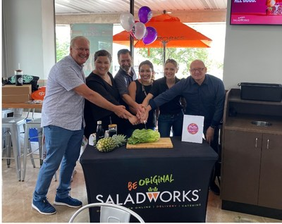 Saladworks and Frutta Bowls Co-Branded Restaurant Opening in E. Norriton, PA