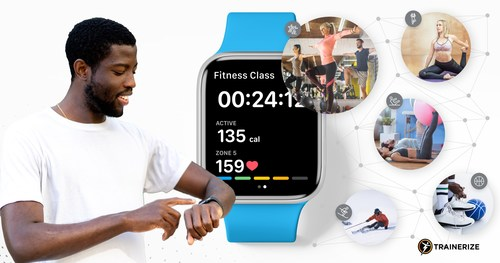 Trainerize Makes Personal Training Even More Personal with New Apple Watch App Capabilities