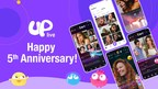Uplive Celebrates its Fifth Anniversary with Prize Pool and Challenge for Users