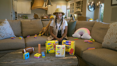 Popsicle is teaming up with actor and mom Tamera Mowry-Housley to launch Powered by Imagination – a nationwide play-inspired contest inviting families to imagine the world's next Popsicle.
