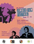 Charly Lowry opens 4th Annual Lumbee Film Festival before outdoor screening of RUMBLE: The Indians Who Rocked the World