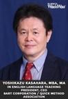 Yoshikazu Kasahara, MBA, Celebrated for Excellence in English...