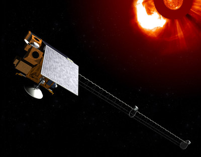 Artist rendering Space Weather Follow On. Image credit: Ball Aerospace