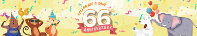 Join Natural Grocers on August 12-14 for their 66th Anniversary Celebration.  Community members are invited to enjoy the biggest sale of the year, giveaways (including a 2021 Toyota RAV4 Hybrid, or $30,000 cash), free ice cream and chocolate, and much more.  Celebrate 66 year of empowering communities to take charge of their health, of providing free Nutrition Education, and of offering nutritionally sound, sustainably produced foods at Always Affordable prices.