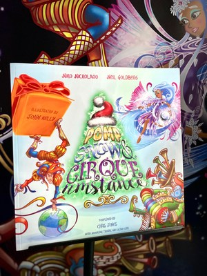 Experience an exciting and magical Holiday story with three best friends, Pomp, Snow, and Cirqueumstance, as they study and learn special music, magic & circus skills at a secret university.
