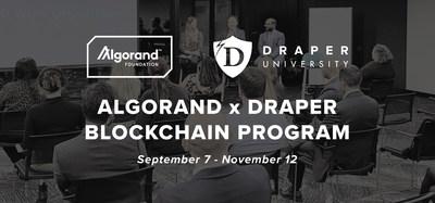 Algorand x Draper Blockchain Program