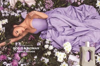 Ariana Grande, lauréate de prix GrammyMD et artiste multiplatine, entre dans la catégorie des produits de beauté saine avec le lancement de God is a Woman, un nouveau parfum inspiré par le pouvoir de la nature