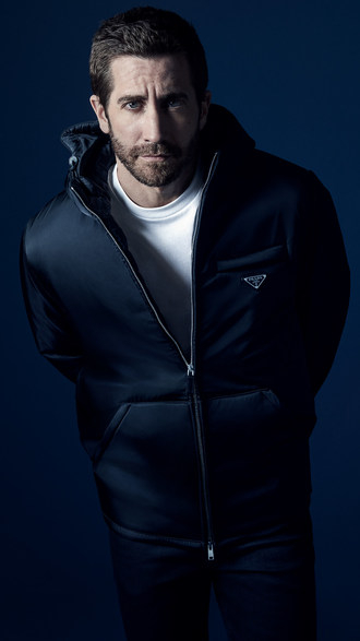 杰克·吉伦哈尔(Jake Gyllenhaal)出席普拉达(Prada)的新款男士香水广告
