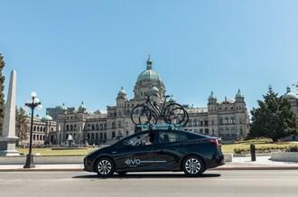 Evo Car Silits的车队现在提供维多利亚(CNW集团/ BCAA保险)beplay数据中心