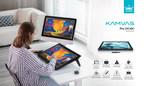 Huion lance trois écrans à stylet de 23,8 pouces, dont la Kamvas Pro 24 (4K)