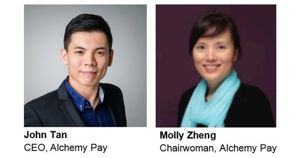 SINGAPORE, July 29, 2021 /PRNewswire/ -- Alchemy Pay, Singapore-based pioneer of the world's first payment gateway solution to bridge the gap between fiat and crypto economies, has announced the appointment of Molly Zheng to Alchemy Pay's board as Chairwoman.…