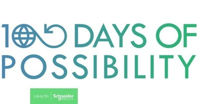 """Schneider Electric and the Global Footprint Network partner on """"100 Days of Possibility"""" initiative to promote solutions to fight climate change (CNW Group/Schneider Electric Canada Inc.)"""