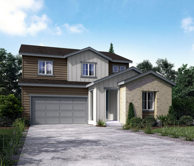 Bronte floor plan at Enclave at Pine Grove in Parker, CO | Century Communities