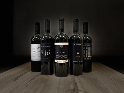 Wine Spies' Enigma label marks an innovative step forward in packaging design. The release includes five unique 1-of-1 bottles available for purchase through an NFT auction as some of the first ever real world asset backed NFTs in existence.