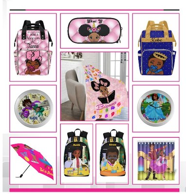 Inclusive New York Designer Puts A New Spin on kids' accessories including backpacks and lunchboxes for Kids of Color with 'BrownKidSwag'