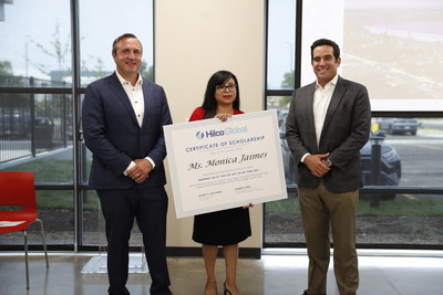 Jeremy Grey, EVP Hilco Redevelopment Partners, Monica Jaimes, and Roberto Perez, CEO Hilco Redevelopment Partners
