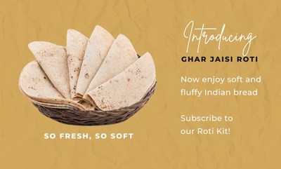 Known by many names across South Asia - parathas, theplas, rotla, and bhakhri - Quicklly's latest Roti Subscription Kit spotlights these fresh breads, with a ready-to-eat offering that contains no preservatives, artificial flavors, or colors.