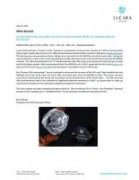 Lucara Recovers 393 Carat Top White Gem Diamond from the Karowe Mine in Botswana (CNW Group/Lucara Diamond Corp.)