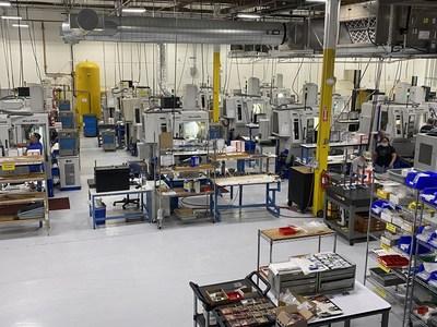 Manufacturing floor at Biomerics NLE - Santa Clara