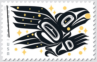 U.S. Postal Service Honors Raven Story With Stamp