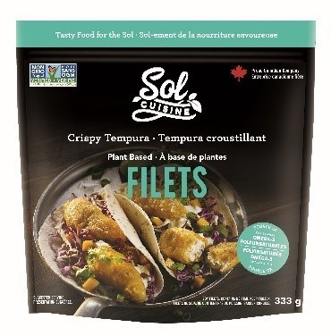 Crispy Tempura Filets (CNW Group/Sol Cuisine Ltd.)