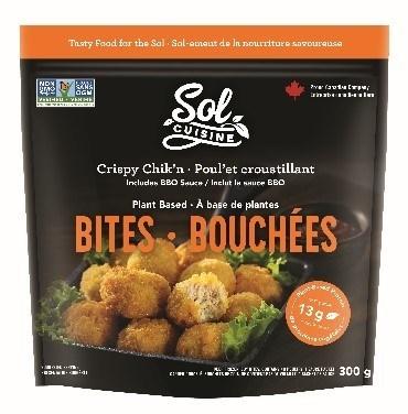 Crispy Chik'n Bites (CNW Group/Sol Cuisine Ltd.)