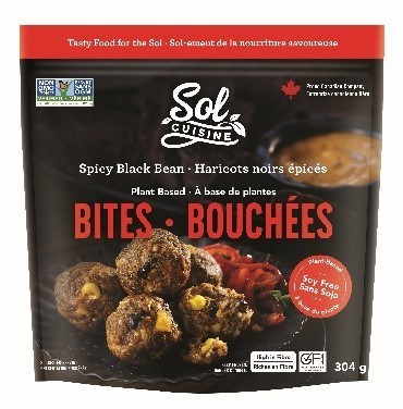 Spicy Black Bean Bites (CNW Group/Sol Cuisine Ltd.)