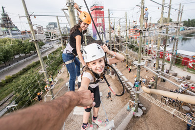 Ecorecreo Group's family adventure park concept was selected following a global call for development for the revitalization of Ontario Place. (CNW Group/Groupe Écorécréo)