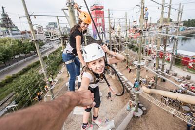Le concept de parc d'aventures familial du Groupe Écorécréo sélectionné à la suite d'un appel de proposition mondial pour la revitalisation de la Place de l'Ontario. (Groupe CNW/Groupe Écorécréo)