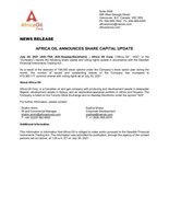Africa Oil Corp PDF (CNW Group/Africa Oil Corp.)