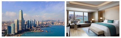 L-R The St. Regis Qingdao Exterior, Skyline Ocean View