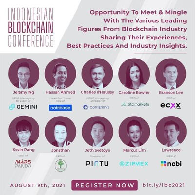 Indonesian Blockchain Conference 2021: Reveal Indonesia's Stance on Blockchain and Crypto Adoption