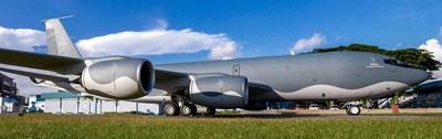 Meta Strategic Mobility KC-135R (Photo by Jivesh Chander/ Aviation_Jets_Thrust)
