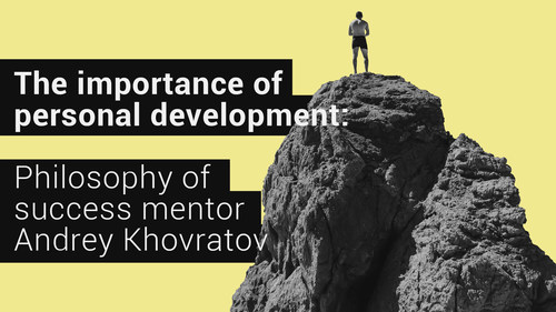 Academy of a Private Investor mentor Andrey Khovratov shares guiding principles for success ahead of new 'VIP-club' launch