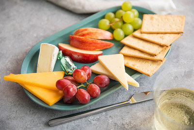 Alaska Airlines' Signature Fruit and Cheese Platter.