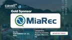 MiaRec Provides Gold Sponsorship for Cavell's Cloud Comms Summit US