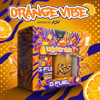 """Round 2: G FUEL Launches New """"Orange Vibe"""" Energy Drink Inspired By World-Famous YouTuber And Rapper KSI"""