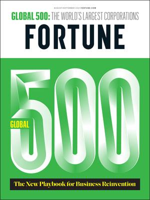 La portada de FORTUNE Global500 2021