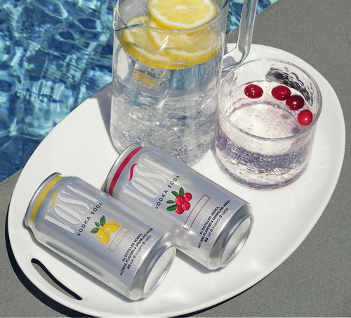 Available in classic favorite flavors -- lemon and cranberry -- enjoy a chilled VOSA right out of the can or elegantly poured in a glass over ice.