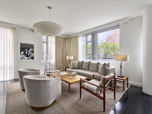 Smyth Tribeca Penthouse Living Room
