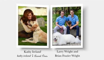 Kathy Ireland: Image Courtesy of Jon Carrasco. Larry Wright and Brian Frazier Wright: Image Courtesy of The Green Pet Shop.