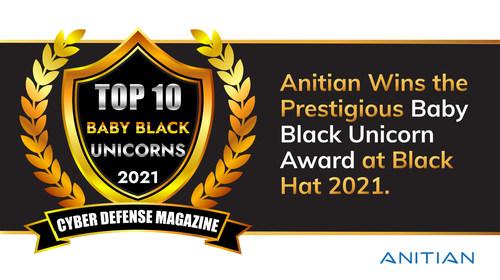 Anitian Named Winner in Prestigious Black Unicorn Awards at   Black Hat 2021