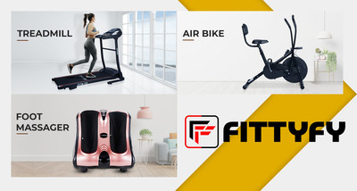 FITTYFY-A fitness brand designed to meet At Home fitness experiences.