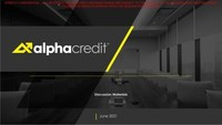 AlphaCredit - Update on Discussions with Ad Hoc Group of Bondholders