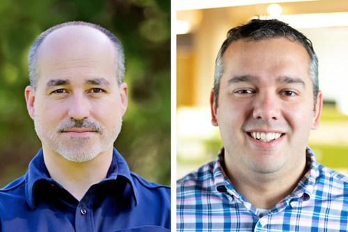 (L to R) Robert Balmaseda, SVP, AMPXD and Michael Mish, SVP, General Manager, AMP Agency