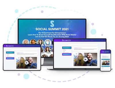 Social Summit - Summer 2021. The free virtual summit for entrepreneurs and bootstrappers that are ready to learn how to brand and monetize digitally. It's easier than you think to promote what you already have now. Social Summit is August 9th, 10th and 11th. All registrants receive a free gift. www.social-summit.com