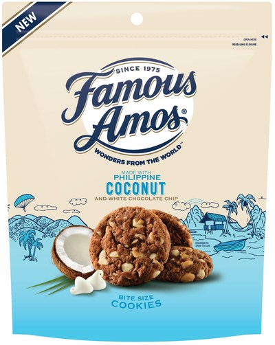 Famous Amos Wonders From the World, Philippine Coconut and White Chocolate Chips
