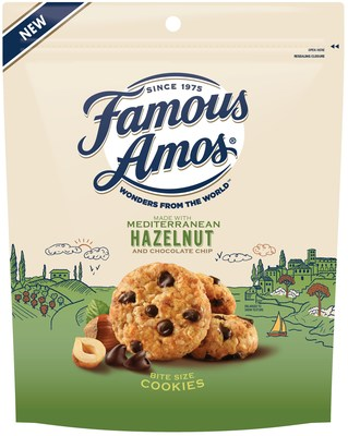 Famous Amos Wonders From the World, Mediterranean Hazelnut and Chocolate Chips