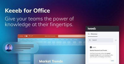 Introducing Keeeb for Office - Empowering teams to work smarter in Microsoft 365