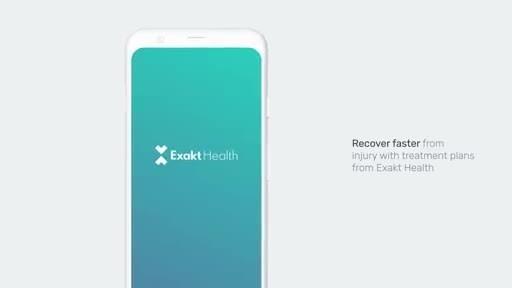Launch der digitalen Physiotherapie-App von Exakt Health --...